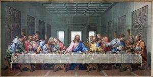 The Last Supper by Carmela D'Amore