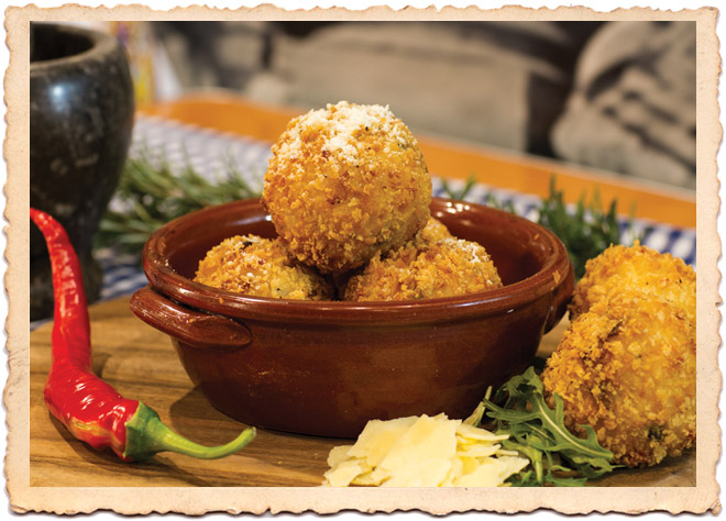 Cooking with Arancini