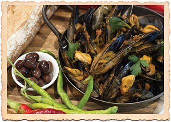 Cooking with Mussels