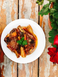 Lamb Shanks by Carmela D'Amore